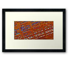 Ship Yard Framed Print