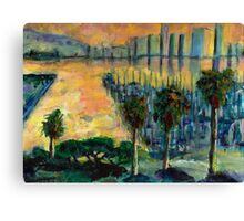 Treasure Island Sunset Canvas Print