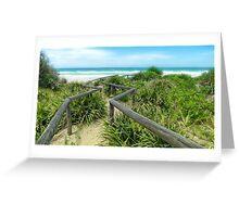 Old Bar Beach NSW 0001 Greeting Card