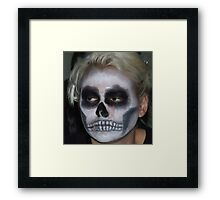 Part 4 in a series on Halloween Framed Print