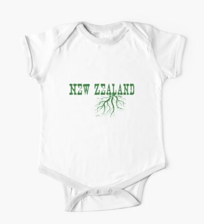 New Zealand Roots One Piece - Short Sleeve