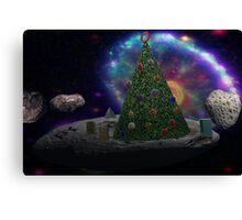 Christmas Tree Asteroid Canvas Print
