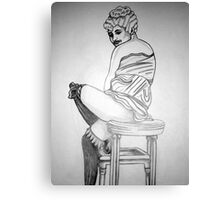 20S GIRL 6 Canvas Print