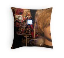 Minimalist decor?....Nuh! Throw Pillow