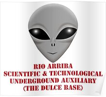 Rio Arriba Scientific & Technological Underground Auxiliary Poster