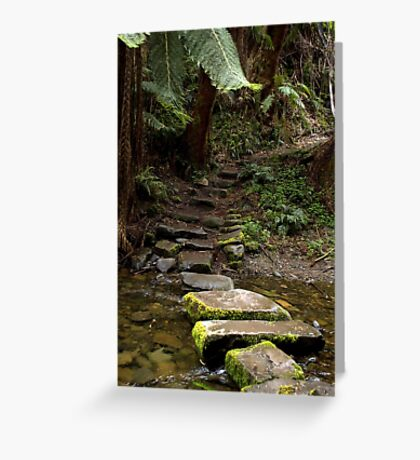 Mystery steps Greeting Card