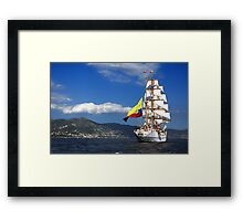 Tall Ships 1 Framed Print
