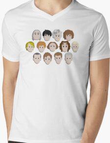 Guess Who! Mens V-Neck T-Shirt