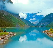 Lake Louise, Alberta, Canada by Priscilla Turner