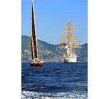 Tall ships 2 Photographic Print