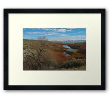 Something Rugged this way Comes Framed Print