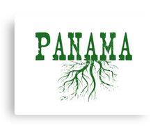 Panama Roots Canvas Print