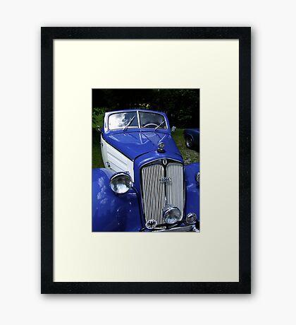 Oldtimer DKW F 8 700 Convertible Framed Print
