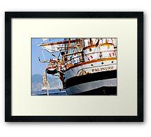 Tall ships 4 Framed Print