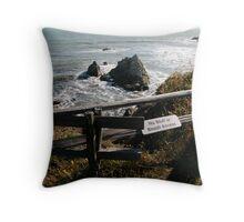 clifftop Throw Pillow
