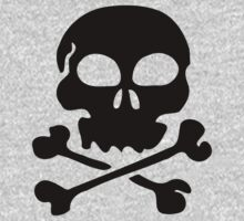 SKULL AND CROSSBONES by Zombie Ghetto Kids Clothes