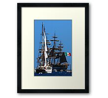 Tall ships  5 Framed Print
