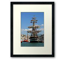 tall ships 6 Framed Print