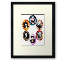 Queens of Rock Framed Print