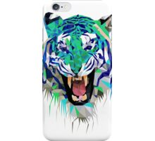 Tiger Force Teeth Face iPhone Case/Skin