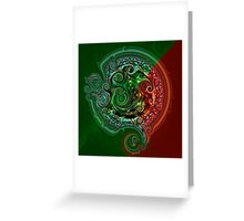Ethereal Clockwork Greeting Card