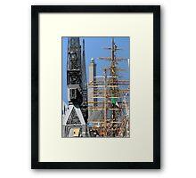 Tall Ships 10 Framed Print