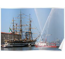 tall ships 13 wather games Poster