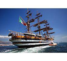 Tall ships 7 Amerigo Vespucci Photographic Print