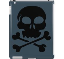 SKULL AND CROSSBONES by Zombie Ghetto iPad Case/Skin