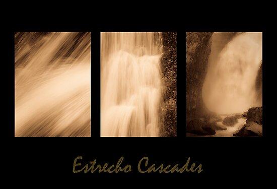 Estrecho Cascades Triptych by Tom Vaughan