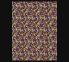 Pattern Flower [Red] Kids Clothes