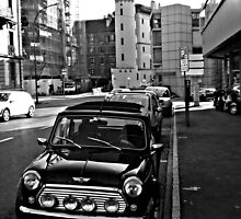 black mini cooper by coltrane004