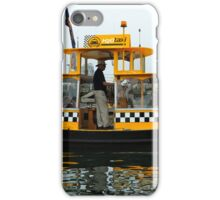 Water Taxi, Victoria, BC iPhone Case/Skin