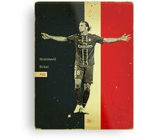 Ibrahimovic Metal Print