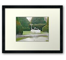The Topiary Gardens Framed Print