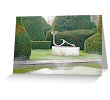 The Topiary Gardens Greeting Card