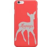 ALWAYS HARRY POTTER Professor Severus Snape Lily Evans iPhone Case/Skin