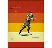 Totti Photographic Print