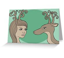 Antlers Greeting Card