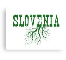Slovenia Roots Canvas Print
