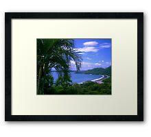 Hermosa Bay Framed Print