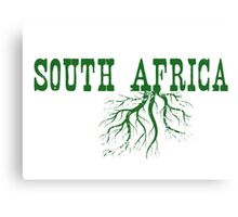 South Africa Roots Canvas Print