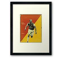 Bergkamp Framed Print