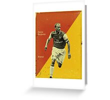 Bergkamp Greeting Card