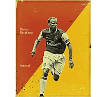 Bergkamp Photographic Print