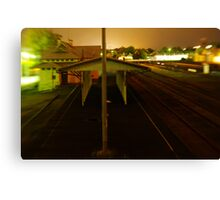 Once There Were Trains Canvas Print