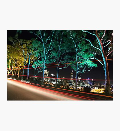 Perth - The City of lights  Photographic Print