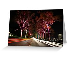 Kings Park Traffic  Greeting Card