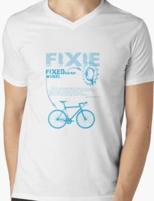 Fixie Mens V-Neck T-Shirt