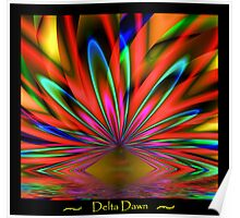 Delta Dawn Poster